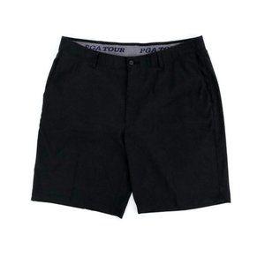 PGA TOUR Men's Golf Black Shorts 37